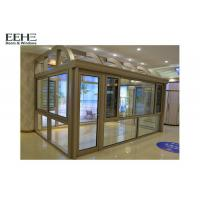 Buy cheap Industrial All Glass Sunroom / Roller Shutter Conservatory Dining Room from wholesalers