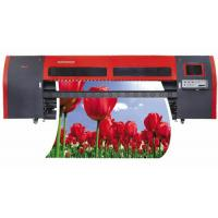 Buy cheap CNC Milled Aluminum High Saturation Large Format Solvent Printer for Outdoor Billboard from wholesalers