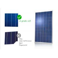 Buy cheap Black Cell Color PV Solar Panels High Transmissions Low Iron Tempered Glass Front Sheet from wholesalers