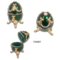 Buy cheap Faberge Egg Jewelry Box Faberge egg Jewelry Boxes for Ring from wholesalers