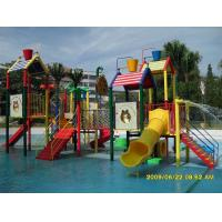 Buy cheap Outdoor Commercial Safety Fiberglass Water Playground Slides Equipment for Children from wholesalers