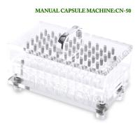 Buy cheap Laboratory Manual Capsule Filling Machine Size 5 Capsule Filler 50 Pcs/Time from wholesalers