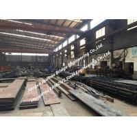 Buy cheap General Steel Structural Fabrication Process Cutting Splicing Welding Polishing Shot Blasting And Coating Treatment product