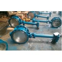 Buy cheap Double Flanged Butterfly Valve Adjust Tightness With Hand Wheel Dn50 To Dn400 from wholesalers