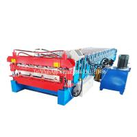 Buy cheap Customized Double Layer Forming Machine Roof Automatic Tile Roll Making from wholesalers