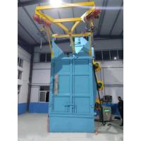 Buy cheap Double Hook Steel Shot Blasting Equipment Compact Structure Field Installation from wholesalers
