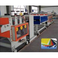 Buy cheap hollow grid sheet extrusion line from wholesalers