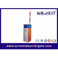 White Orange Car Park Barrier Arms Automatic Vehicle Barriers CE ISO Approval