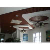 Buy cheap Recyclable UPVC Wall Panels , Wood Plastic Composite Ceiling Tile from wholesalers