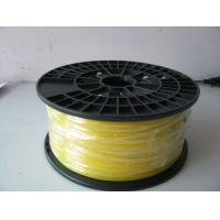 Buy cheap Durable Yellow PLA Plastic Filament 3.0mm 1.75mm For Building 3D Printer from wholesalers