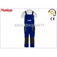 Buy cheap 100% Cotton Oxford Fabric Knee Pad Embroidered Logo Bib Brace Overalls from wholesalers