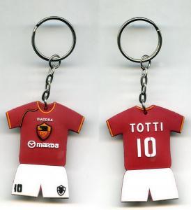 Buy cheap Gifts Football Shirt Designer Keychains Silk Screen Printing product