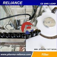 Buy cheap Shanghai Reliance 5ml,10ml essential oil amber glass bottle filling capping machine from wholesalers