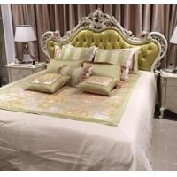 Buy cheap 5 Star Hotel Classic French Furniture / Bed Furniture Sets Solid Wood Frame from wholesalers