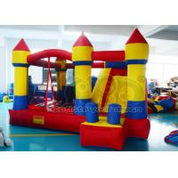 Buy cheap Tropical moonwalk Inflatable Bounce House Green For Advertisement HR4040 from wholesalers