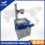 Buy cheap 30W Raycus CNC Marking Machine , Sliver Fiber Laser Metal Marking Equipment from wholesalers