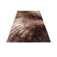 Buy cheap New 3D Popular Polyester Silk Shaggy Carpet and Rug Popular Brown Shade Colors from wholesalers