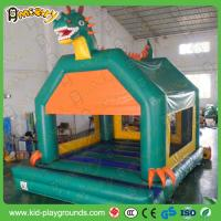 Buy cheap Green dragon Inflatable castle , bouncy castle air pumps,inflatable castle jumper, used jumping castle inflatable from wholesalers
