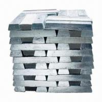 Buy cheap 99.99% Magnesium Ingot with 7.5 + 0.5kg Per Ingot Unit Weigh product