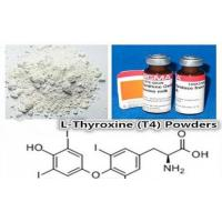 Buy cheap CAS 51-48-9 Weight Loss Steroids Pro-hormone Powder L-Thyroxine(T4) from wholesalers