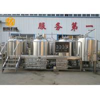 Semi - Auto Control Beer Distillery Equipment 2000L 4 Vessels With Mash / Lauter