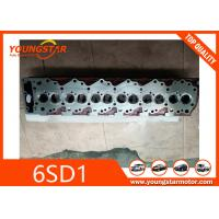 Buy cheap Casting Iron Engine Cylinder Head For Excavator Parts Isuzu 6SD1 12V / 6CYL product