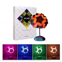 Buy cheap Beautiful USB 3 LED 8 Model DIY Colorful Origami Table Lamp from wholesalers