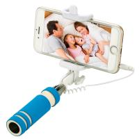Buy cheap Handheld Wired Selfie Stick , Smartphone Selfie Stick Adapter Rotating 180 Degrees from wholesalers
