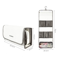 Buy cheap Dupont Tyvek Travel Hanging Toiletry Bag For Bathroom from wholesalers