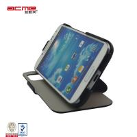 Buy cheap S-view flip PU leather support stand window case cover for Samsung Galaxy S4 mobile phone from wholesalers