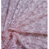 Buy cheap 2017 Hot Sale Pink Hollow-out the Five-Star Flower Fall-Plate Stitch  Lace  Fabrics from wholesalers