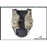 Buy cheap White Small Inflatable Hunting Fishing Vest Pe Foam Filling Open Sides from wholesalers