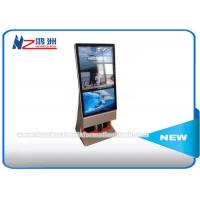 Buy cheap Outdoor Multi Touch Screen Free Standing Kiosk Rotatable LCD Advertising Player from wholesalers