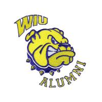 Buy cheap Embroidery Digitizing Services alumni bull dog head WAO9c04 from wholesalers
