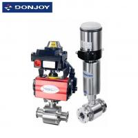 Buy cheap Pneumatic Ball Valve , Regulating Valve With Controller / Signal Indicator from wholesalers