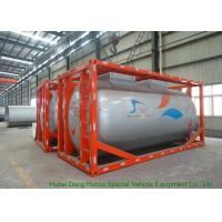 Buy cheap International ISO Tank Container 20FT / 30FT For Methanol CH3OH Transport And Storage from wholesalers
