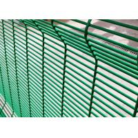 Buy cheap PVC Coated 358 Security Mesh , Anti Climb Prison Mesh Fencing 8 Gauge from wholesalers