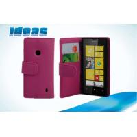 Buy cheap Anti-Wear Nokia Leather Phone Case Stand Pouch with Card Slot  For Nokia Lumia 520 from wholesalers