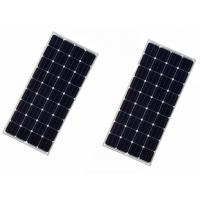 Buy cheap Silicon Mono PV Module Black Frames , 150W Roof Mounted Solar Panels For House from wholesalers