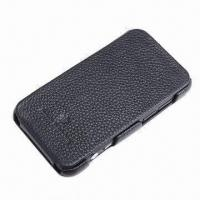 Buy cheap Cow Leather Cellphone Cover, Suitable for HTC EVO 3D (G17) from wholesalers