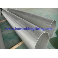 Buy cheap Stainless Steel Welded Pipe, DIN 17457 1.4301 / 1.4307 / 1.4401 / 1.4404 EN 10204-3.1B, PA, AND PE, SCH5S, 10S, 20, 40S from wholesalers