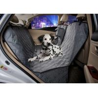 Buy cheap Grey Animal Car Seat Covers , Non Slip Rear Car Seat Covers For Dogs from wholesalers