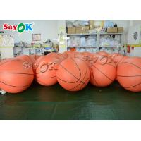 Buy cheap Outdoor Event SGS Inflatable Helium Flying Basketball from wholesalers