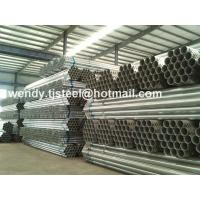 Buy cheap en 10255 astm a53 galvanized steel pipe Stock BS1387 export to Chile from wholesalers