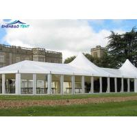 Buy cheap Hot DIP Galvanized Outdoor Exhibition Tents With Pvc Glass Abs Decoration from wholesalers