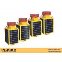 Buy cheap 2000 Candelas Solar LED Warning Light Nighttime Flashing For Bridges , Stainless Steel Housing from wholesalers