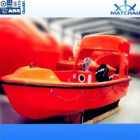 Buy cheap 5.4m 15persons Marine Open Type FRP Rescue Boat with Davit from wholesalers