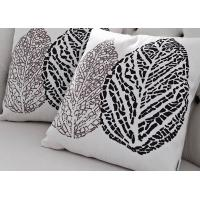 Buy cheap Super soft cushion,leaf print cushion,4 fastness nap waist support cushion from wholesalers