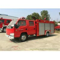 Buy cheap JMC 4x2 Water Tank Fire Fighting Truck  For Fire Fighting  With Fire Pump 2500Liters from wholesalers