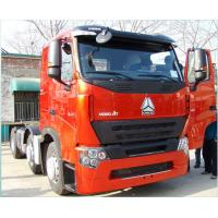 Buy cheap Corrosion Prevention Prime Mover Truck 10 Tires / Howo 371 Truck With Two Sleepers from wholesalers